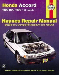 Honda Accord (90 – 93)