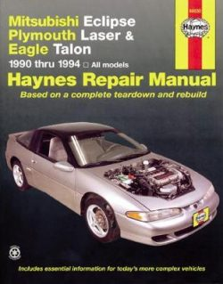 Mitsubishi Eclipse, Plymouth Laser & Eagle Talon (90 – 94)