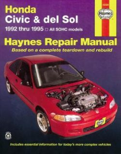 Honda Civic And Del Sol (92 – 95)