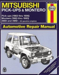 Mitsubishi Pick-Up & Montero (83 – 96)