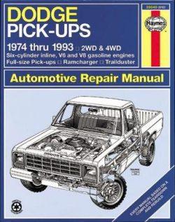 Dodge Pick-Ups (74 – 93)