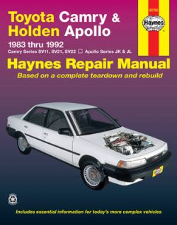 Toyota Camry & Holden Apollo (83 – 92)