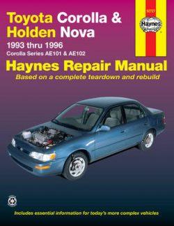 Toyota Corolla & Holden Nova (93 – 96)