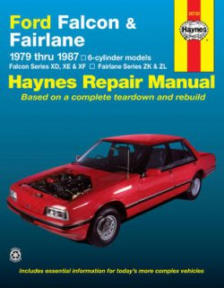 Ford Falcon/Fairlane Australian Automotive Repair Manual: 1979 to 1987