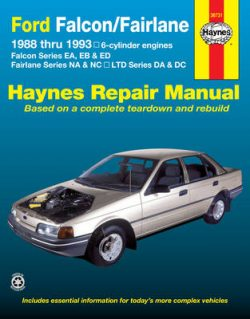 Ford Falcon/Fairlane Australian Automotive Repair Manual: 1988 to 1993