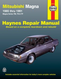 Mitsubishi Magna Australian Automotive Repair Manual: 1985-1991