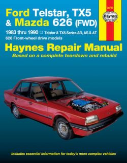 Ford Telstar, TX5 and Mazda 626 (FWD) Australian Automotive Repair Manual: 1983 to 1990