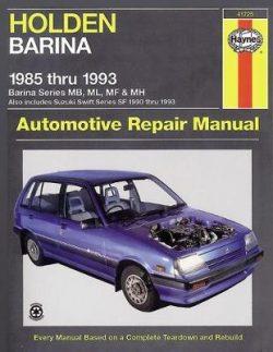 Holden Barina (85 – 93)