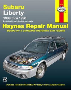 Subaru Liberty (89 – 98)
