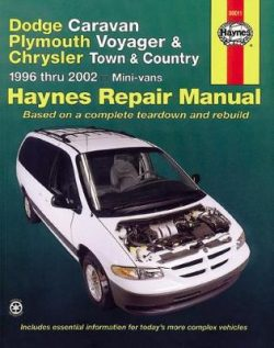 Dodge Caravan, Plymouth Voyager And Chrysler Town & Country Mini-Vans (96 – 02)