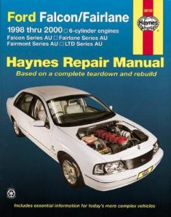Ford Falcon, Fairlane, Fairmont & Ltd (98 – 02)
