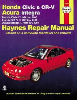 Honda Civic & CR-V & Acura Integra (94 – 01)