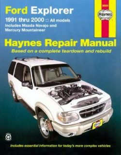Ford Explorer, Mazda Navajo, Mercury Mountaineer (91 – 05)