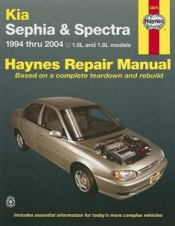 Kia Sephia & Spectra (94 – 04)