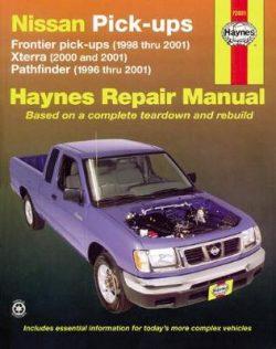 Nissan Frontier, Xterra & Pathfinder Pick-Ups (96 – 04)