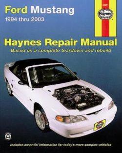 Ford Mustang 1994-2004 Repair Manual