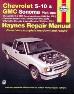 Chevrolet S-10 & GMC Sonoma Pick-Ups 94