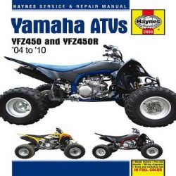 Yamaha YZF450 & YZF450R ATV's Service and Repair Manual: 2004 to 2010