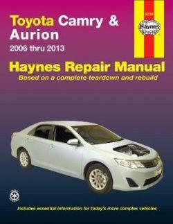 Toyota Camry ACV40R, ASV50R/Aurion GSV40R, GSV50R 2006-2013 Repair Manual