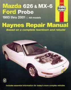 Mazda 626 Automotive Repair Manual: 1993 to 2002