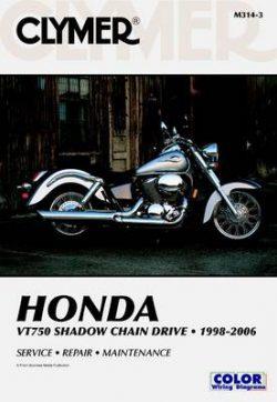 Clymer VT750 Shadow Chain Drive 1
