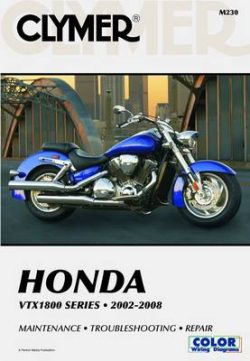 Clymer Honda VTx1800 Series 2002-