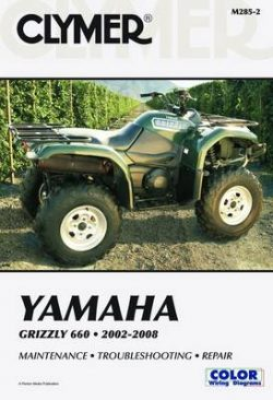 Clymer Yamaha Grizzly 660 2002-20