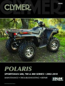 Clymer Polaris Sportsman 600, 700