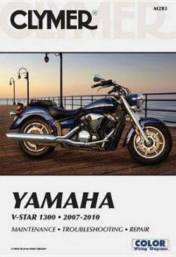 Clymer Yamaha V-Star 1300 2007-20