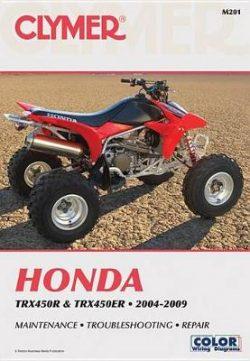 Honda TRX450R And TRX450Er 2004-