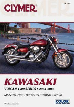 Clymer Kawasaki Vulcan 1600 Series