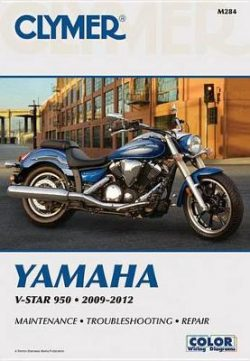 Clymer Manuals V-Star 950 2009-20