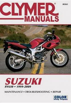 Suzuki Sv650 Clymer: 1999-09