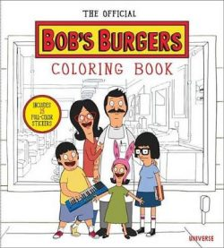 Official Bobs Burgers Colouring Book