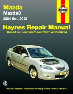 Mazda 3 2004-2011 (Aus)