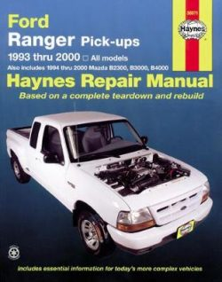 Ford Ranger Automotive Repair Manual: 1993-2011