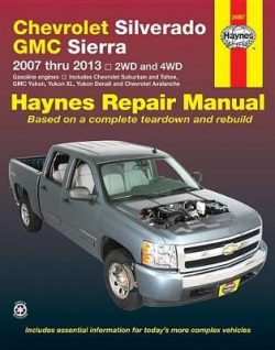 Chevrolet Silverado & GMC Sierra: 2007-13