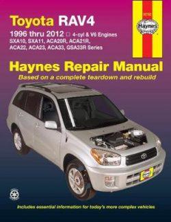 Toyota RAV4 (USA): 96-12