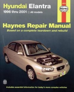 Hyundai Elantra Automotive Repair Manual: 1996 to 2013