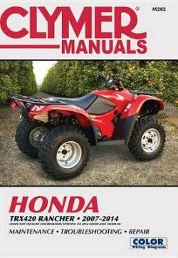 Honda TRX420 Rancher Clymer ATV: 07-14