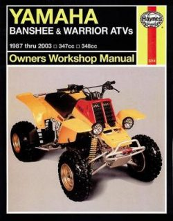 Yamaha Banshee, Warrior & Raptor 350 ATVs: 1987-2010