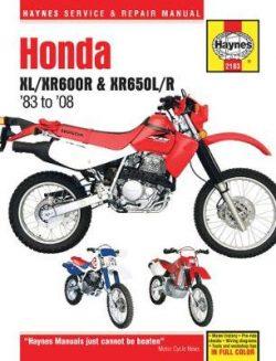 Honda Xl/Xr600R & XR650L/R: 83-14