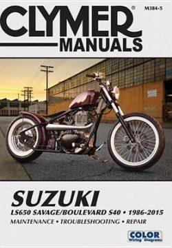 Suzuki Ls650 Savage/Boulevard S40 (Clymer): 1986-2015