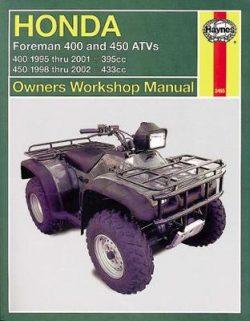 Honda Foreman ATV: 1995-2011