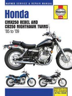 Honda CMX Rebel & CB250 Nighthawk Twins