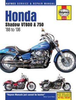 Honda Shadow VT600 & 750 USA Automotive Repair Man: 1988-14