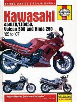 Kawasaki 454 Ltd, Vulcan 500 & Ninja 2 Motorcycle