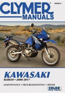 Kawasaki KLR650 Clymer Motorcycle Repair Manual: 2008-17