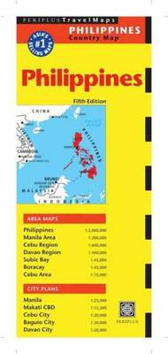 Philippines Travel Map: Fifth Edition