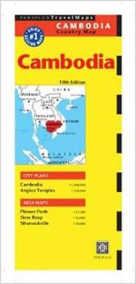Cambodia Travel Map